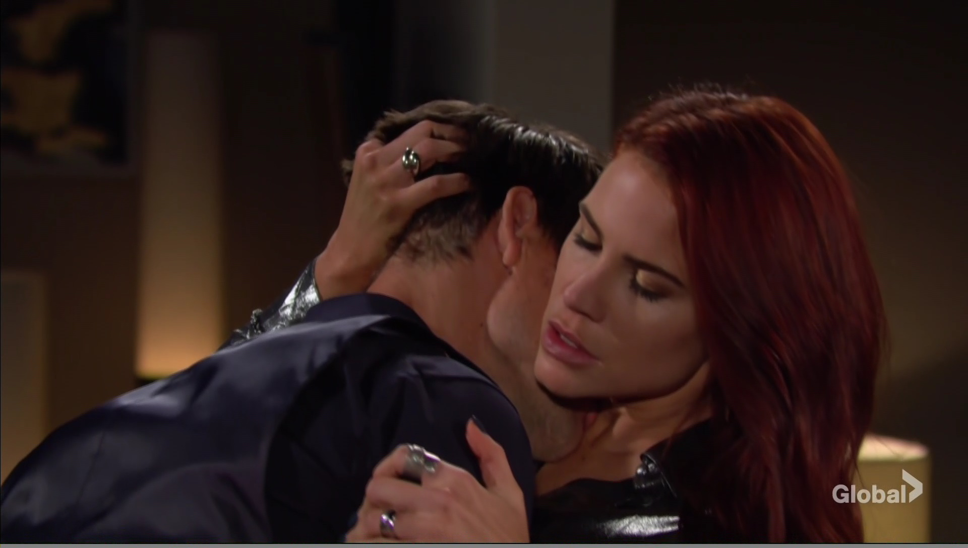 sally adam young restless make out