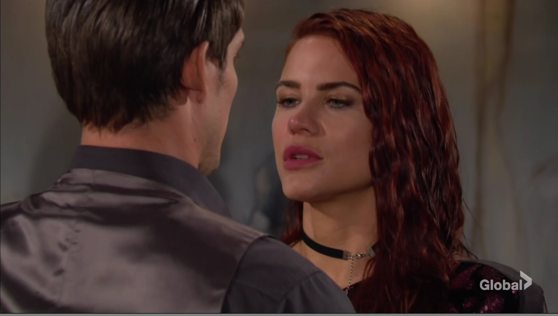sally adam after kiss young restless
