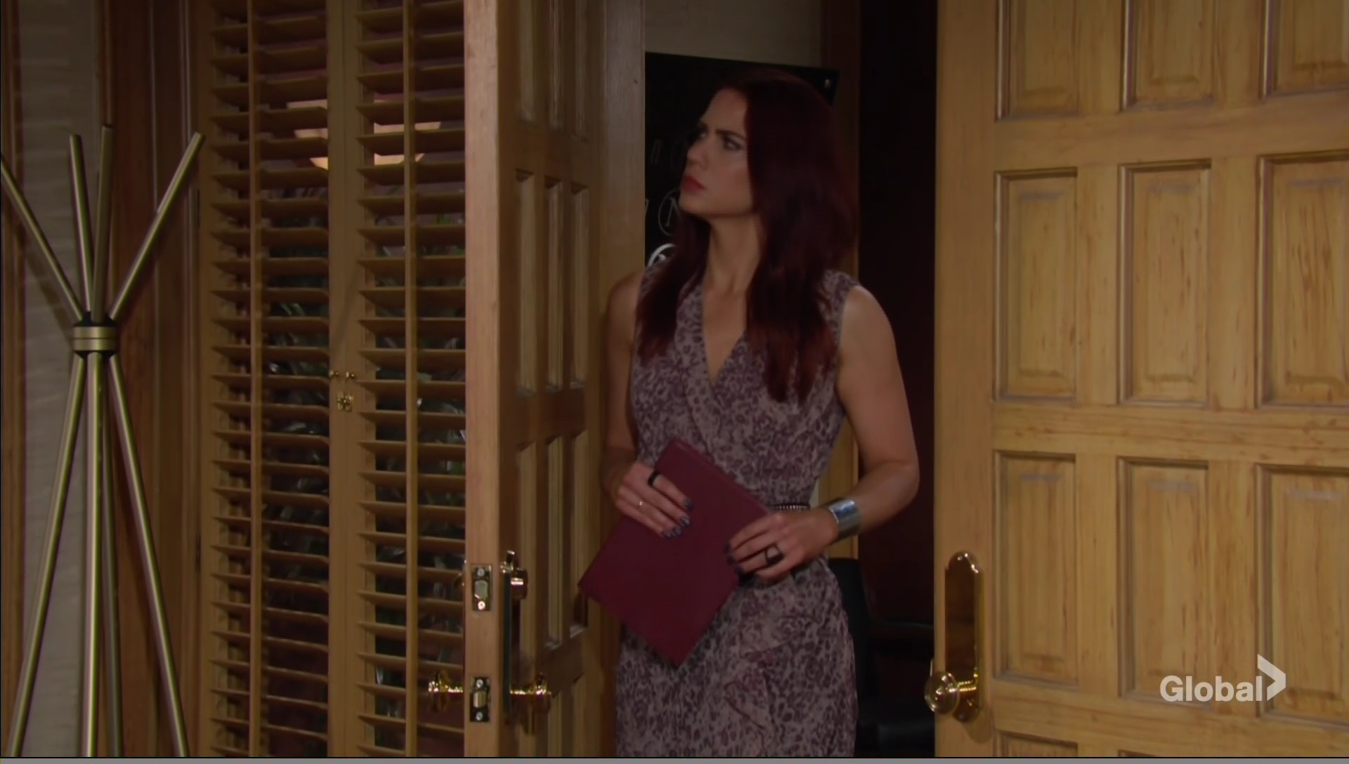 sally eavesdrops adam young and restless