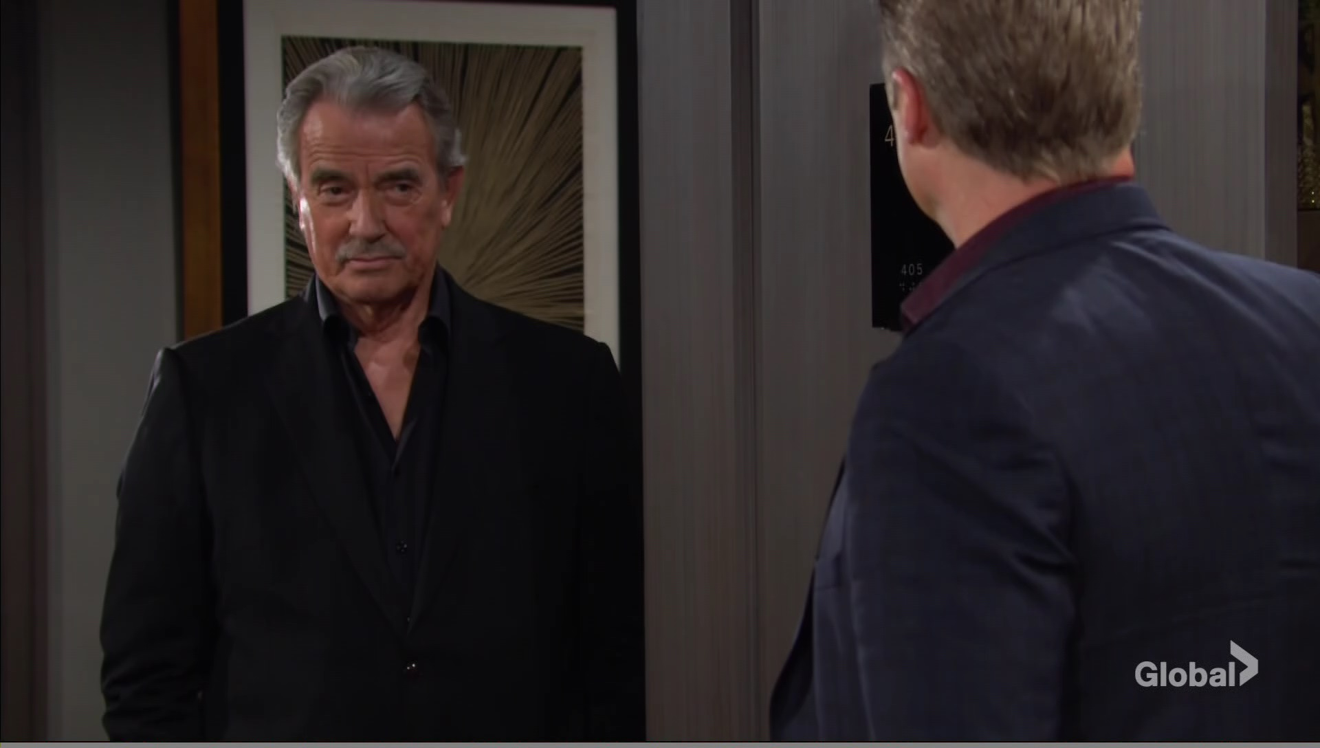 victor goes see jesse gaines young and the restless cbs