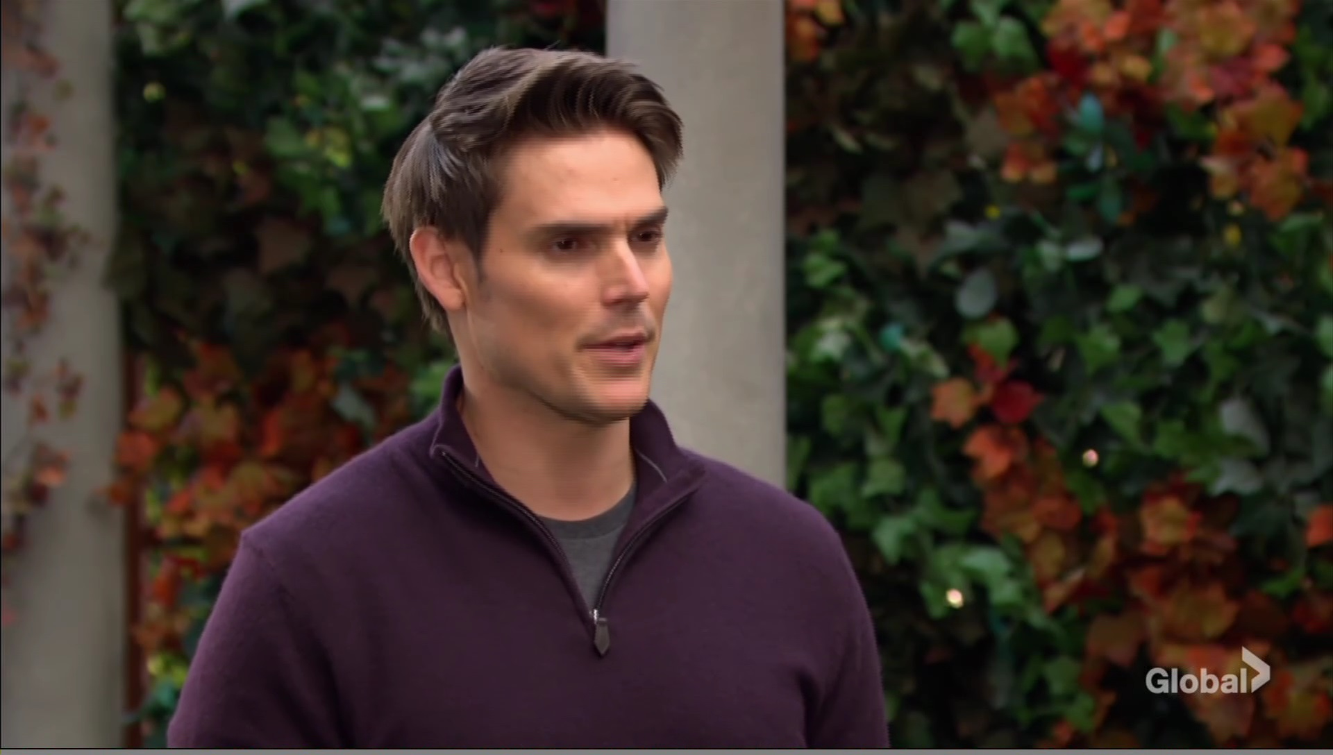 adam park sally talking italy young restless cbs
