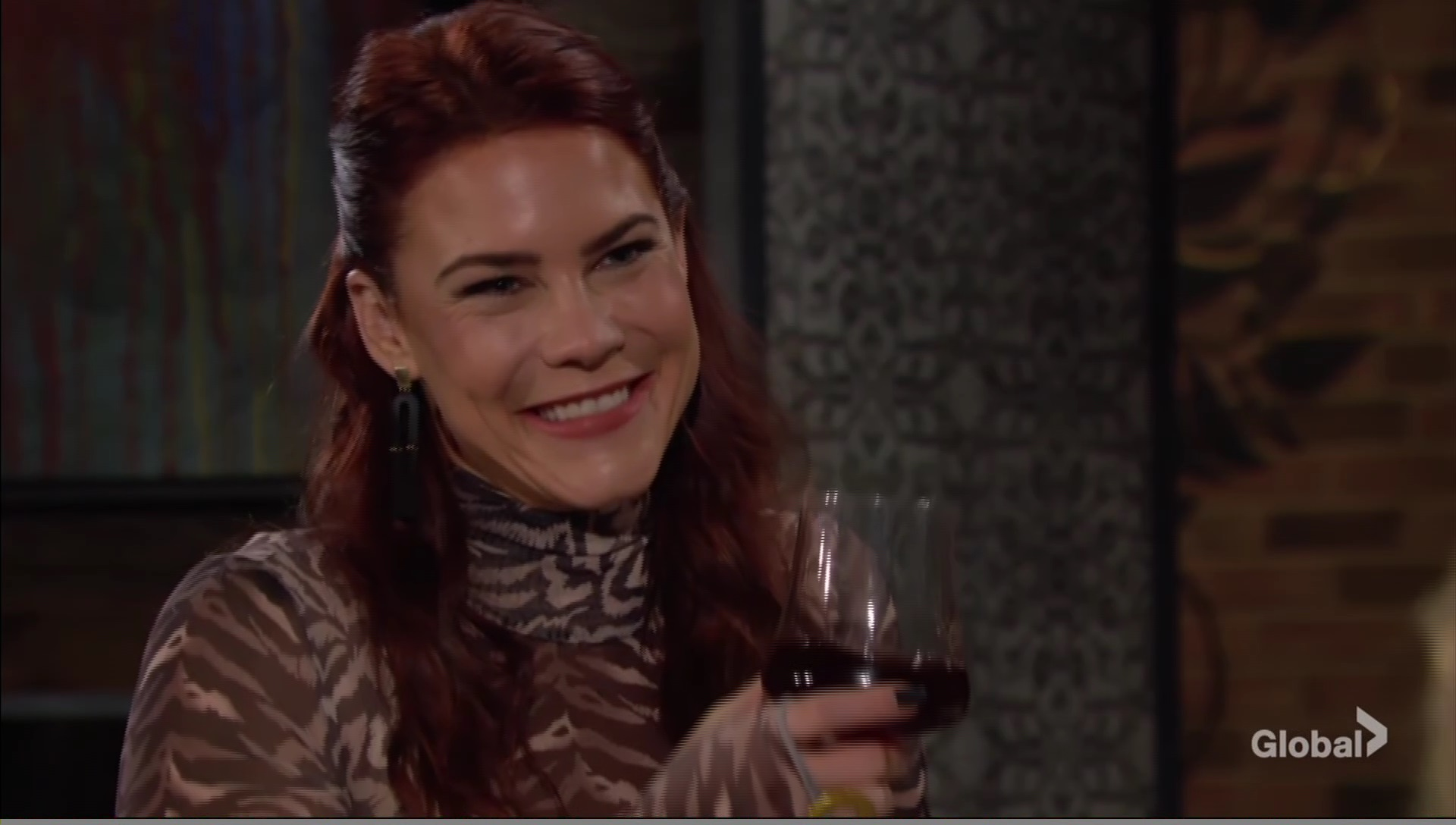 sally drinking young restless