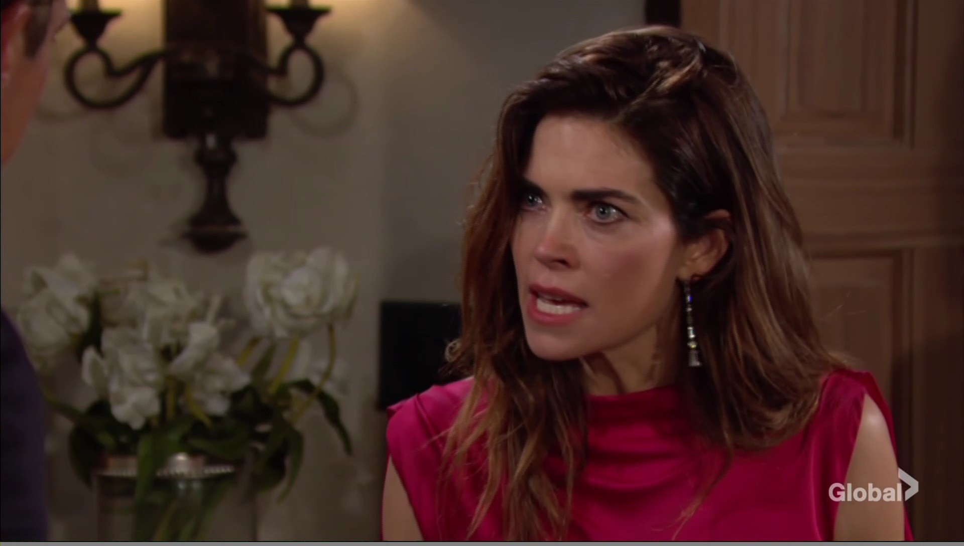 victoria yells at ex young restless cbs